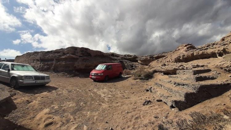 parking playa el cabron