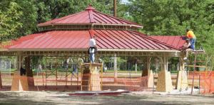 City Park picnic pavilion