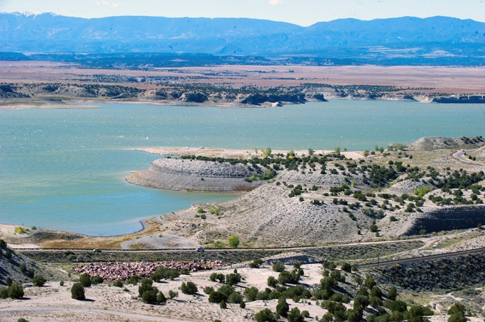 View of Lake Pueblo Colo. on October 11, 2013 from atop of Liberty Point. (John Jaques,The Pueblo Chieftain)