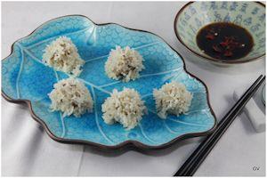 Perles de riz