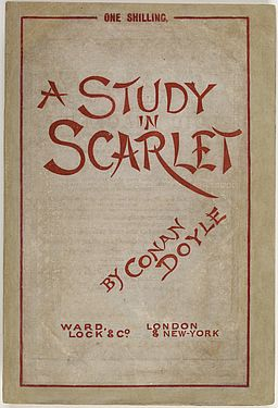 Study in Scarlet 1888 Ward Lock cover