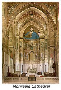 Βυζαντινή λαμπρότητα. Μονή Monreale