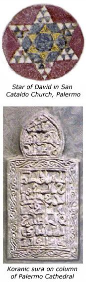 Ίχνη Ιουδαϊσμού και Ισλάμ στο Παλέρμο.