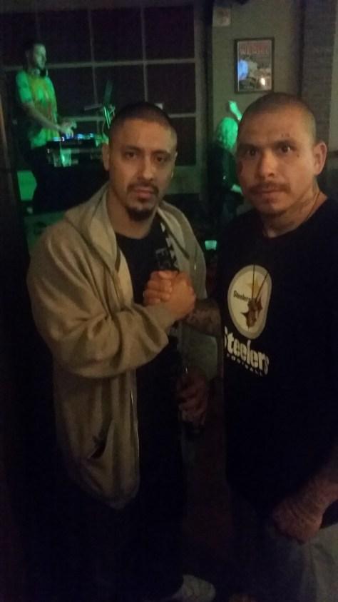 Pro Boxer Alex Cortes