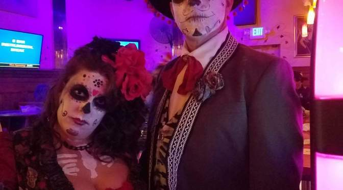 Monroe's  Casino Skareoke Halloween Party