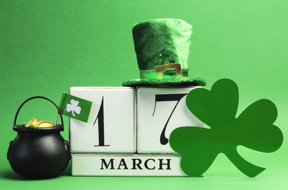 St Patrick's Redding California 2017 Events