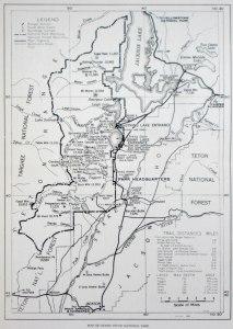 1942 Map GTNP