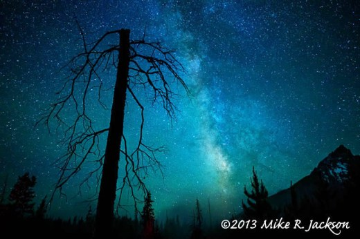 String Lake Snag Milk Way