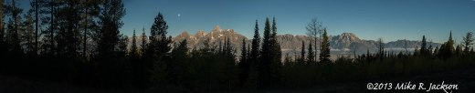 Shadow Mtn Teton Pano