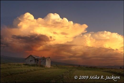 Storm over Alta