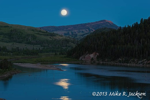 Slide Lake Moon