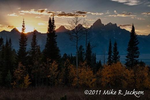 Shadow Mountain Sunset