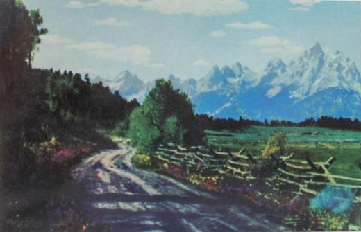 The Old Jackson Hole Road
