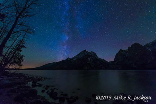 Stars over Jenny Lake Oct26