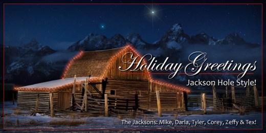 Christmas Jackson Hole Style