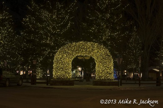 Christmas Plain Antler Arch Dec15