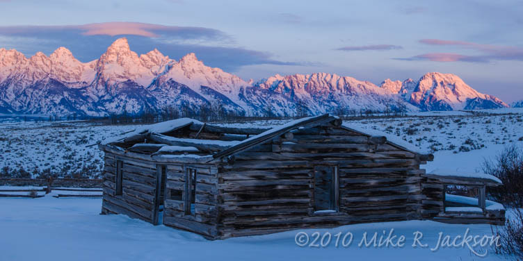 The Shane Cabins stock image. Image of cabin, tetons