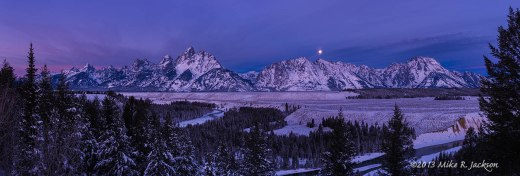 Snake River Overlook Moon Set Dec18