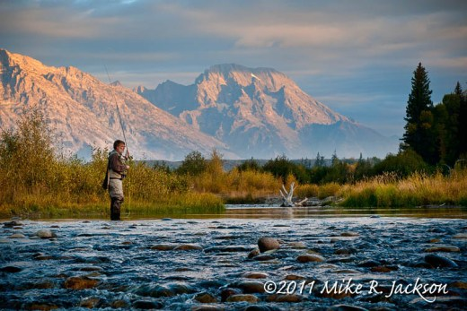 Mt Moran Fly Fish