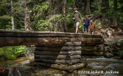 Cascade Canyon Footbridge