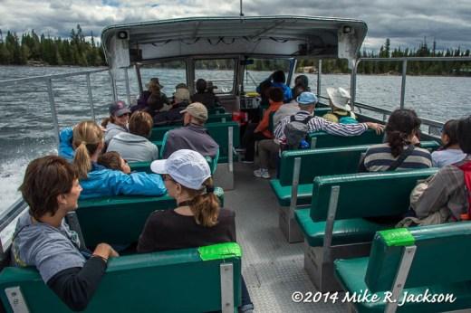 Jenny Lake Boat Ride Home
