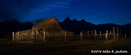Night at the Barn