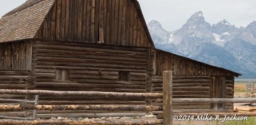Windows on the John Moulton Barn