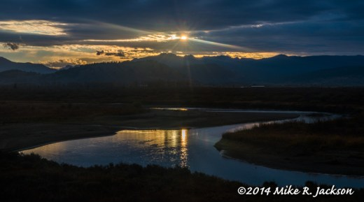 Buffalo Valley Sunrise