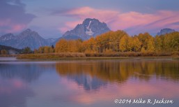 Oxbow Bend in Pink