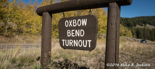 Oxbow Bend Sign