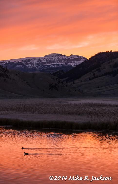 Sunrise Over Sleeping Indian