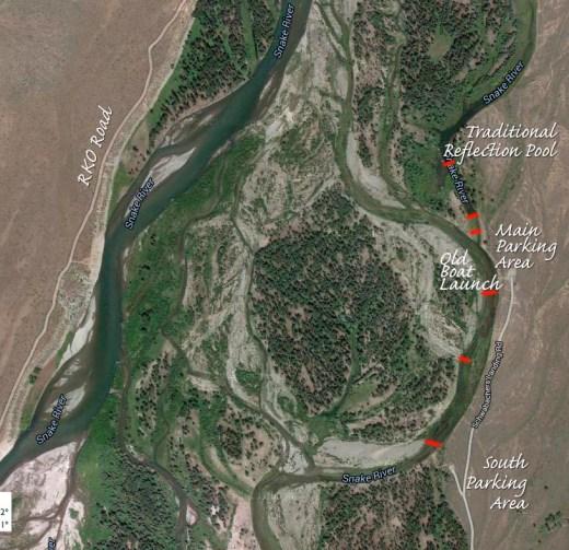 Schwabacher Landing Satellite View