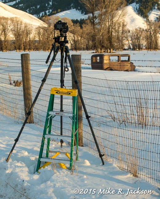 Tripod and Ladder