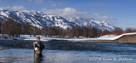 Fly Fishing Snake River March 8