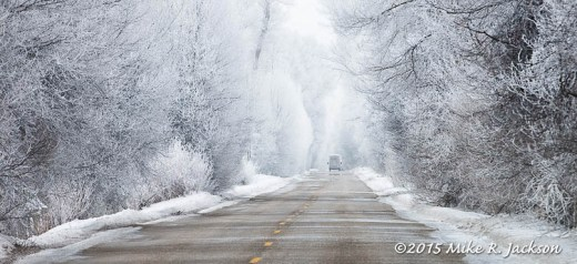 Frosty Roadway