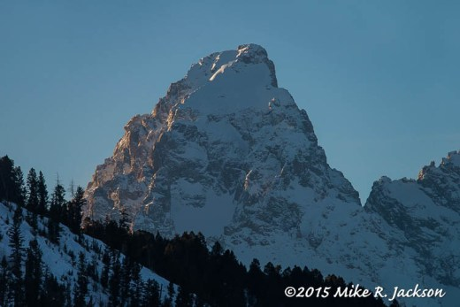 Evening Grand Peaks
