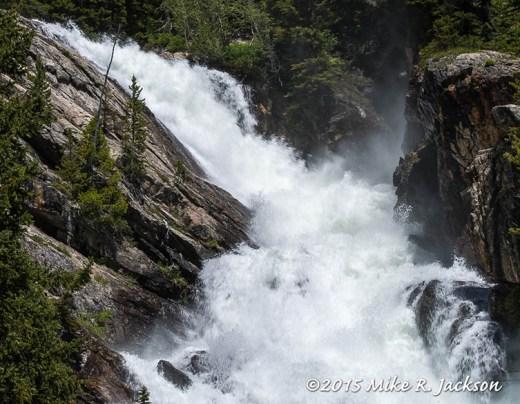 The Top of Hidden Falls