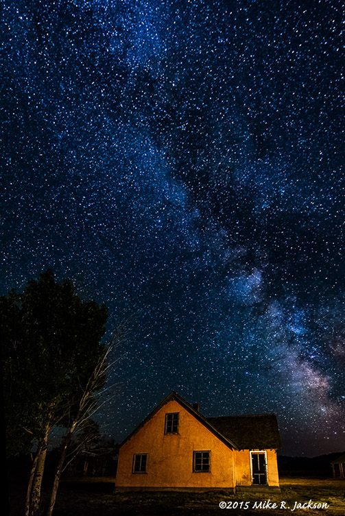 Peach House and Milky Way