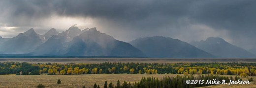 Stormy Teton Range