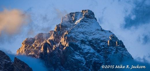 Evening Grand Peak