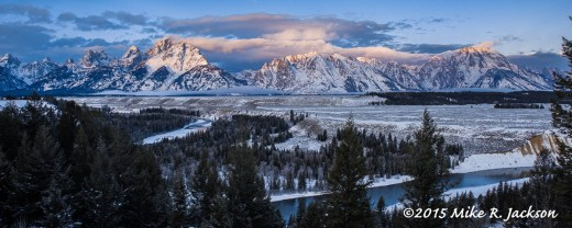 Sunrise at Snake River Overlook