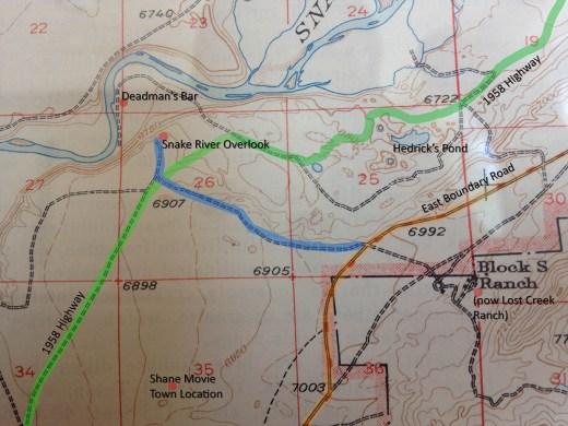 1951 SRO Area Map