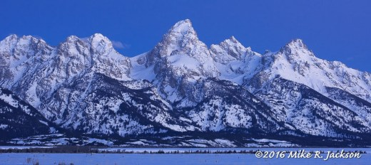 Frosted Tetons