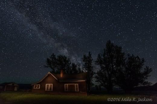 Milky Way Over Mormon Row