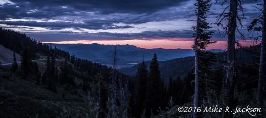 Sunrise On Teton Pass