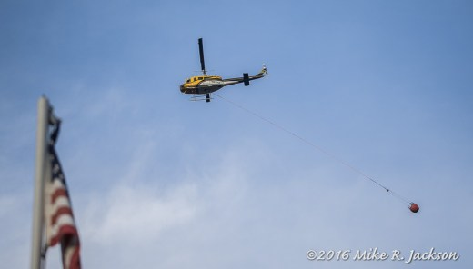 Copter with Water Bucket