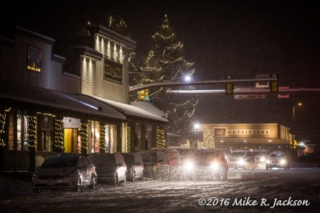 Christmas Eve in Jackson Hole, WY