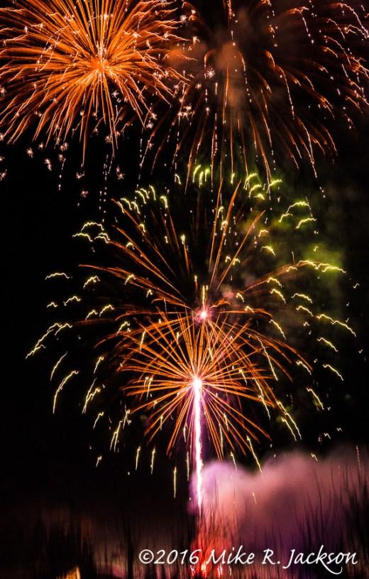 Teton Village Fireworks