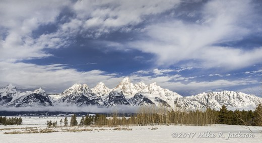 Morning Tetons