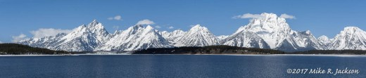Jackson Lake Pano